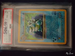 Pokemon shadowless blastoise psa 8 for Sale in Vista, CA