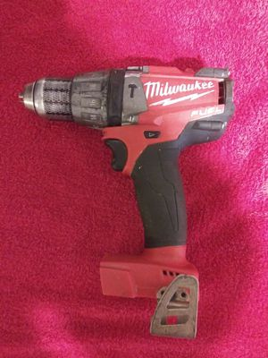 Milwaukee 2 speed fuel brushless hammer drill used in good working condition for Sale in Beaumont, CA