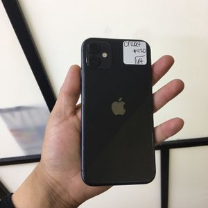 IPHONE 11 64GB CRICKET OR RSIM UNLOCKED BACK HAIRLINE CRACK for Sale in Garland, TX