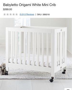 Babyletto Origami White Mini Crib for Sale in San Lorenzo, CA