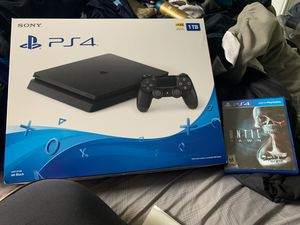 PS4 1TB /with Until Dawn for Sale in Mission Viejo, CA