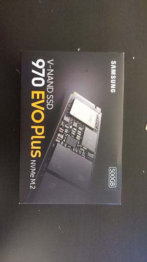 Samsung V-NAND SSD 970 EVO Plus for Sale in West Springfield, VA