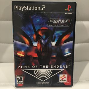 Zone of The Enders ps2 game for Sale in Salt Lake City, UT