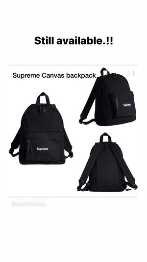 Supreme canvas backpack for Sale in Santa Maria, CA