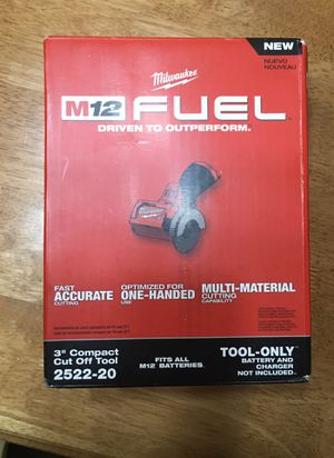 Milwaukee M12 3inch compact cut off tool (new) for Sale in Puyallup, WA