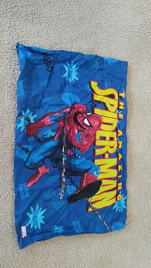 LIKE NEW Marvel Spider-Man pillow case for Sale in Falls Church, VA