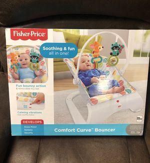 Fisher-Price® Comfort Curve™ Bouncer in Cake Pop- NEW! Reg $35 for Sale in Dallas, GA