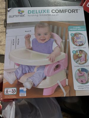 Folding booster seat for Sale in Cape Coral, FL