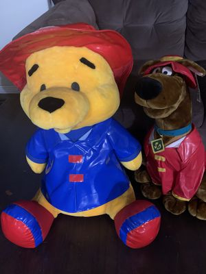 Big Size Winnie the Pooh & Scooby Doo for Sale in Chula Vista, CA