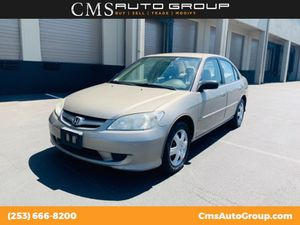 2005 Honda Civic Sdn for Sale in Kent, WA