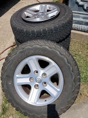 Tires and rims for ram 2008 for Sale in Dallas, TX