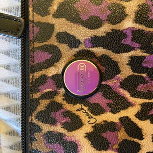 Coach, Cross Body, Cheetah Purse for Sale in Orange, CA