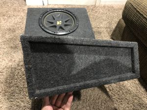12s kickers with box for Sale in Houston, TX