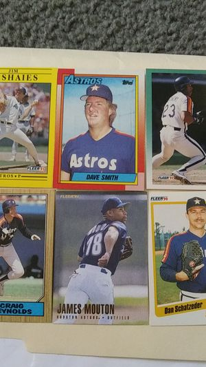 Astros Baseball cards for Sale in Houston, TX