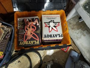 Old playboy magazines for Sale in Wildwood, FL