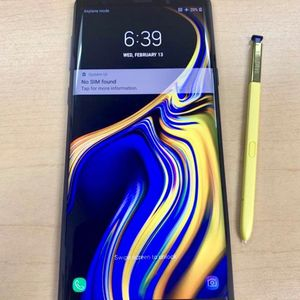Samsung Galaxy Note 9 128GB Like New ( Unlocked for any carrier ) for Sale in Silver Spring, MD