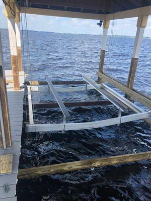 Aluminum boat cradle. for Sale in Orlando, FL