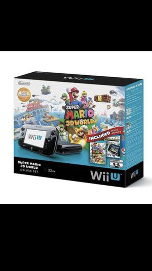 New Nintendo Wii U 32gb Deluxe Never Opened for Sale in Glendale, AZ