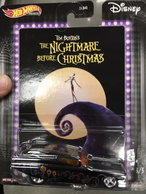 Hot Wheels The nightmare before Christmas Tim Burton Brand New and Sealed for Sale in Los Angeles, CA