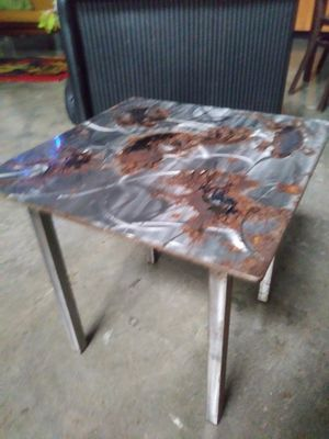 Modern All Metal Coffee/End Table for Sale in San Diego, CA