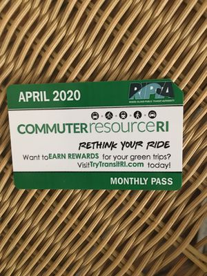 April 20202 monthly bus pass for Sale in North Providence, RI