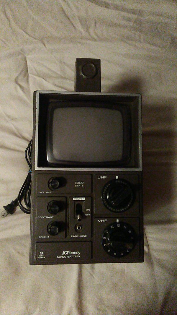 J. C. Penney Solid State TV