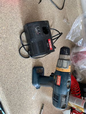 Ryobi drill and charger for Sale in Virginia Beach, VA