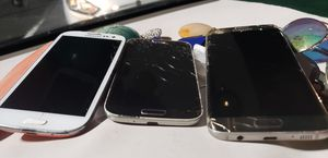3 Samsung Android galaxy phones for Sale in Vero Beach, FL