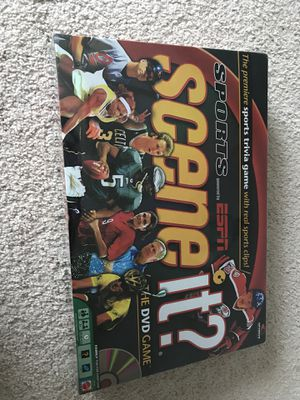Sports ESPN Scene It? The DVD Board Game - New Sealed Box for Sale in Charlotte, NC