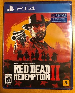 Red Dead Redemption 2 (Factory Sealed) for Sale in Baltimore, MD
