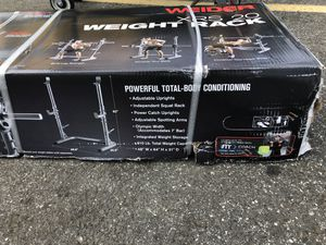 Weight Rack Weider XRS 20 for Sale in Hartford, CT