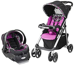 NEW Evenflo Vive Travel System with Embrace, Daphne for Sale in Sacramento, CA