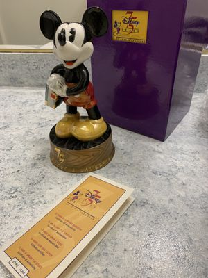 Disney Mickey Mouse Collectable Figure Statue 75 Year 948/5000! Brand new! for Sale in Los Angeles, CA