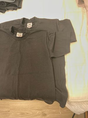 ProClub Heavy Weight Black Shirt (x2): Size M for Sale in Fullerton, CA