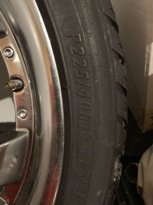 3-18 inch Rims and tires for Sale in Federal Way, WA