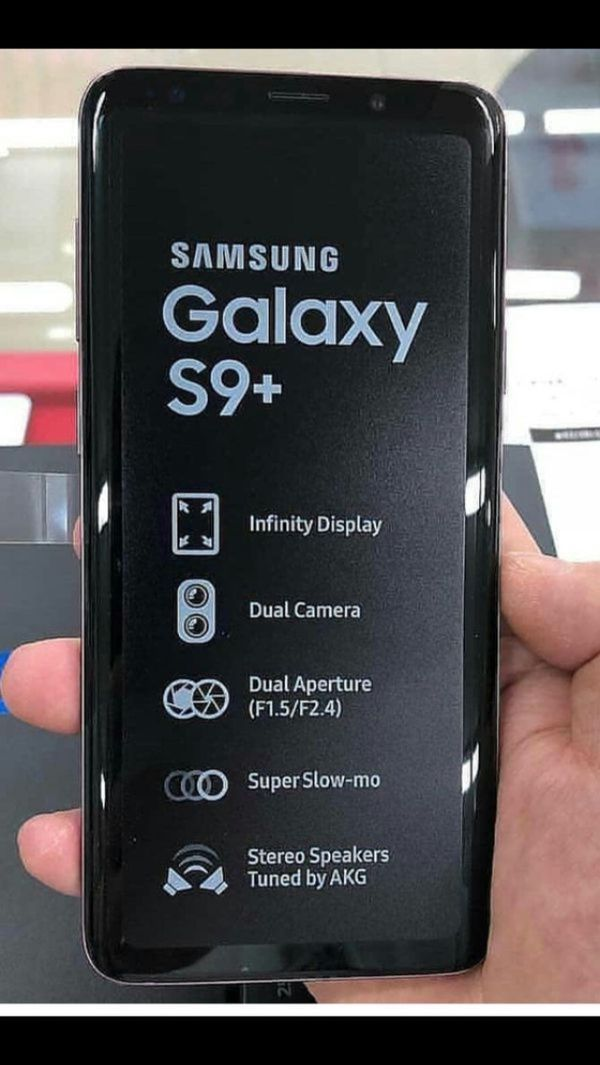 Samsung Galaxy S9 Plus ,Factory Unlocked Excellent Condition,(As Like Almost New)