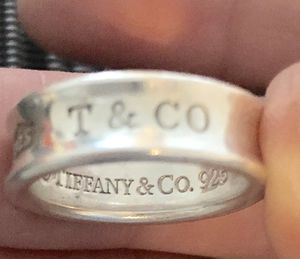 Tiffany & Co 925 1837 Size 7 Silver Women's Jewelry for Sale in Euless, TX