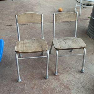 Vintage School Chairs for Sale in Turlock, CA