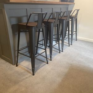 30 Inch Bar Stools - Set of Four for Sale in Westlake, OH