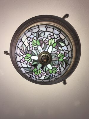 Beautiful Stained Glass Light for Sale in Everett, WA
