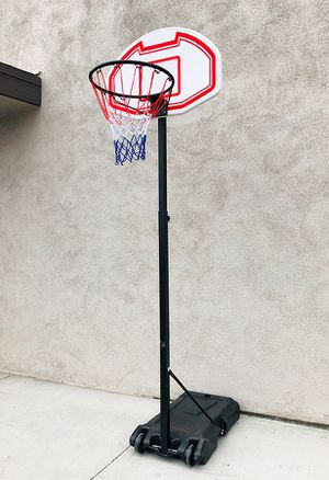 """New in box $50 Kids Junior Sports Basketball Hoop 28x19"""" Backboard, Adjustable Rim Height 5' to 7' for Sale in Whittier, CA"""