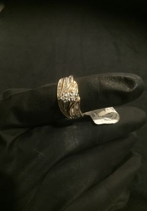 Gold and diamonds wedding ring for Sale in Downey, CA