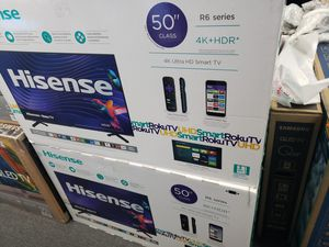 "50"" Hisense uhd 4k Roku TV for Sale in San Bernardino, CA"