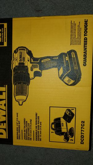 Dewalt brushless 1/2in drill/driver set for Sale in Tacoma, WA