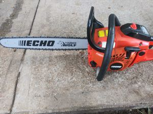 Echo cs-450 chain saw. Brand new 20' chain and bar. I have an extra 16' bar for free for Sale in Dallas, TX