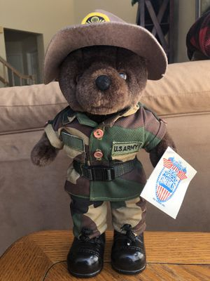 US Army Teddy Bear - Bear Forces of America for Sale in Vista, CA