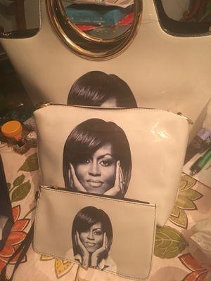 Brand new Michelle Obama 3pc purse set for Sale in Mount Rainier, MD