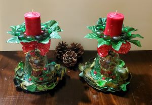 Christmas Chandeliers.Unique Pieces.Christmas Collection.Designer.Exclusive.( 2 pieces) for Sale in Miami, FL