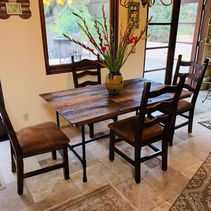 Brand New Modern Wooden Rustic Dining Table for Sale in San Diego, CA