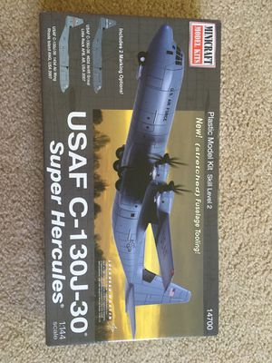 USAF C-130J model build kit for Sale in Cheshire, CT